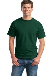 Gildan-2000-Forest-Green-Mens-T-shirt