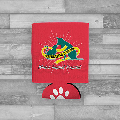 Winter Animal Hospital Coozie