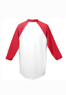 Augusta-Sortswear-420-White-Red-Baseball-Jersey