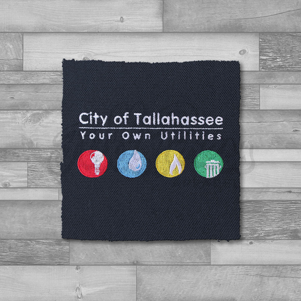 City Of Tallahassee Utility Embroidery Full Press Apparel