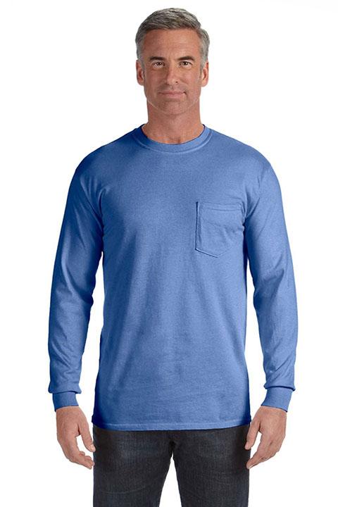 Comfort-Colors-C4410-Flo-Blue-Mens-Long-Sleeve