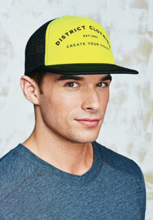 DT624-neon-yellow-trucker-cap