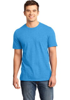 District-DT6000-Heathered-Bright-Turquoise-T-shirt-sfw