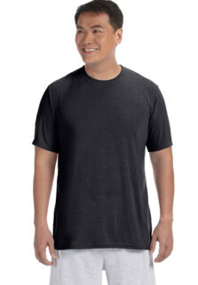 Gildan-G42000-Mens-Black-Performance-T-shirt