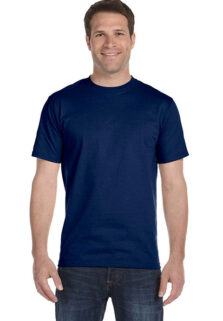 Gildan-G8000-Mens-Navy-T-shirt