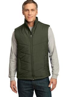 J709-Olive-Mens-Puffy-Vest