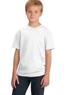 Port-Company-PC54Y-Youth-White-T-shirt-sfw