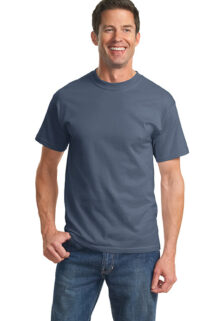 Port-Company-PC61-Steel-Blue-T-shirt-sfw
