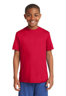 Sport-Tek-YST350-Red-Youth-T-shirt