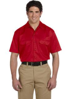 1574-Red-Short-Mens-Work-Shirt
