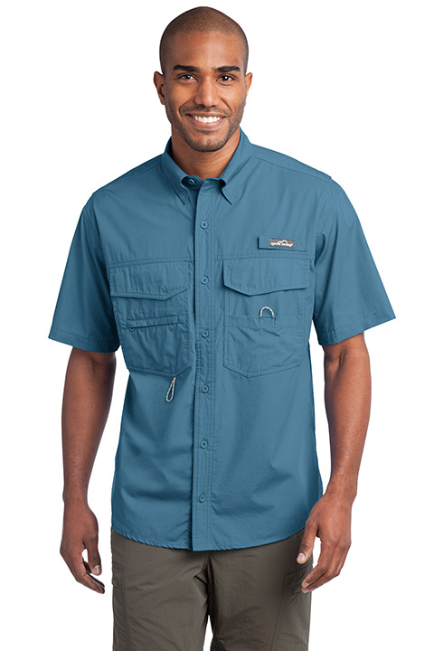 EB608-Cotton-Blue-Short-Mens-Shirt