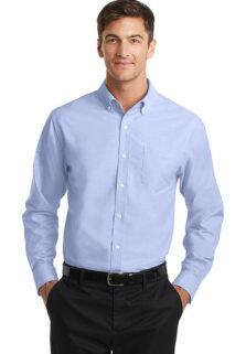 S658-Blue-Blend-Mens-Oxford-Shirt