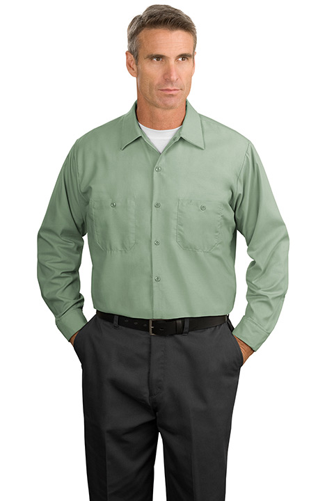 SP14-Green-Long-Mens-Work-Shirt