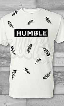 Humble Creative Screen-Printed T-Shirt