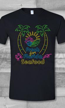 Florida Neon Seafood