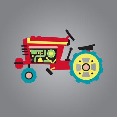 Tractor Illustration