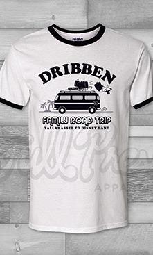 Family Road Trip VW Bus