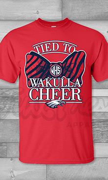 Wakulla School Bow Tie Cheer
