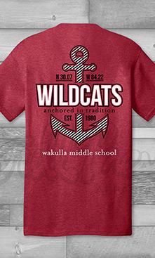 Wakulla Wildcats Anchor