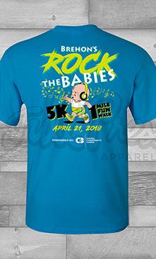 Brehons Rock the Babies 5k